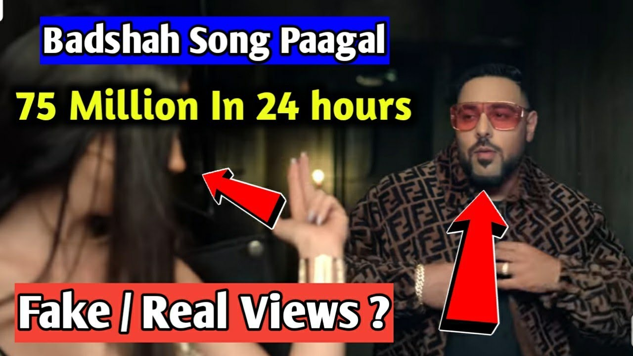 Image result for badshah ladki pagal hai youtube views controversy