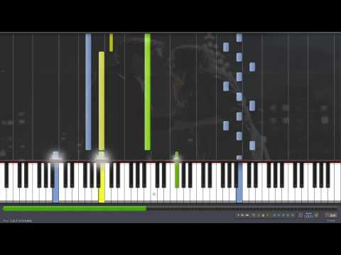 """Doctor Who - """"Together Or Not At All - The Song Of Amy And Rory"""" (by Murray Gold) - Piano Tutorial"""