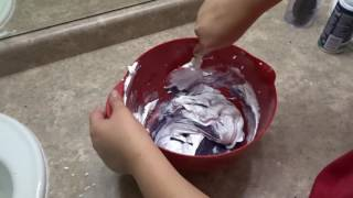 Fluffy Kinetic Sand Slime! (NO CONTACT LENS SOLUTION)