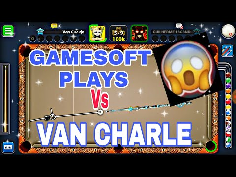 Van Charle - 8 Ball Pool - VS GAMESOFT PLAYS O MAIOR CANAL DE 8 BALL DO BR TORNEIO DE YOUTUBERS