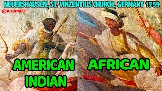Part 2 - American Indians and Africans side by side  The People of The Four Continents