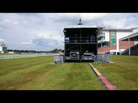 Behind the Scenes at Music Showcase Weekend at York Racecourse 2016