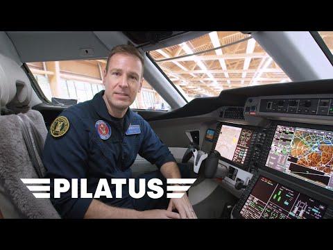 PC-24 Tour Part II  Cockpit with Test Pilot Fish