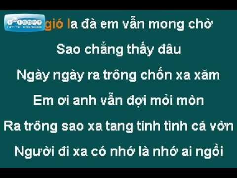Karaoke Online - Bèo Dạt Mây Trôi Tone nam ( Lower key)