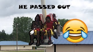 MT. OLYMPUS ( MY SISTER BF PASSED OUT ON A RIDE) Must watch!!
