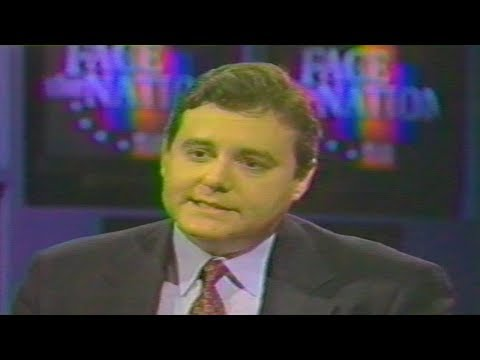 Dan Stein on Face the Nation April 3, 1994