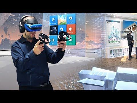Test des contrôleurs VR Windows Mixed Reality