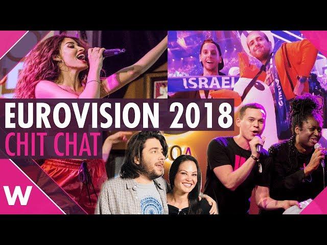 Eurovision 2018 review vlog: Wiwi Jam, Salvador Sobral, Eleni Foureira