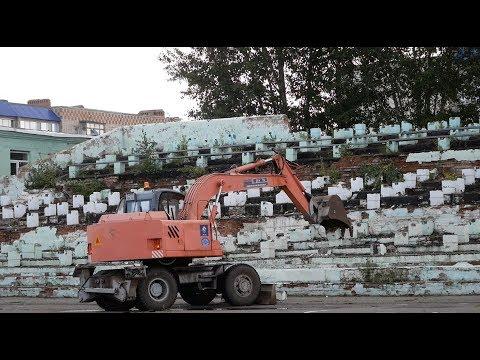 """Церемония начала реконструкции стадиона """"Шахтер"""" прошла в Кумертау"""