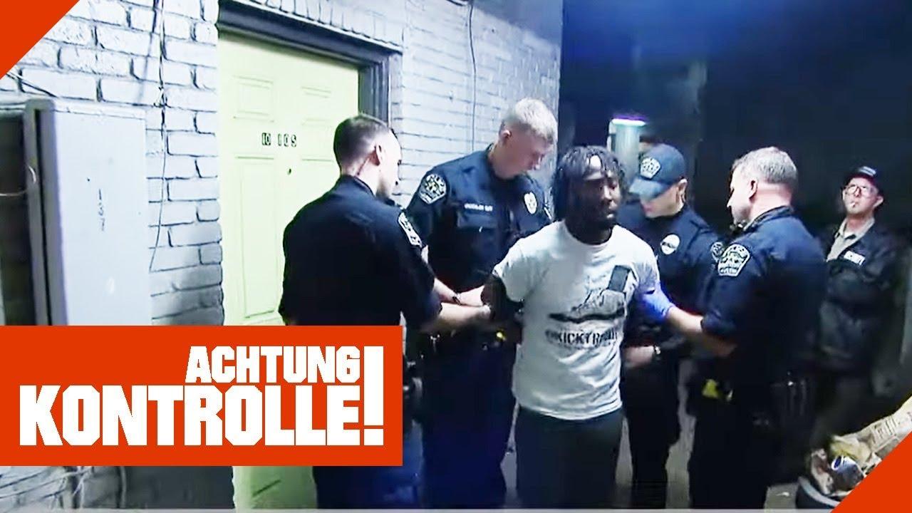 Aggressiv gegenüber der Polizei: Was verschweigen die