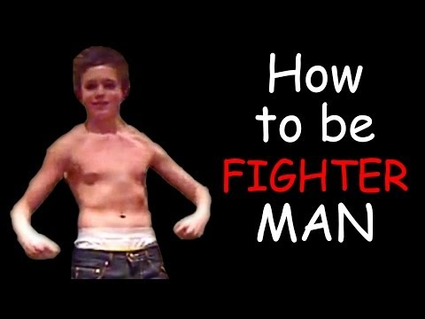 Thumbnail: MY FIRST EVER VIDEO! (How to be Fighter Man)
