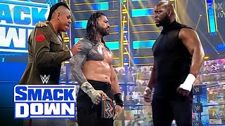 WWE May 4, 2021 - Roman reigns, Commander Azeez Vs. Omos Jordan Omogbehin : Smackdown Full Match