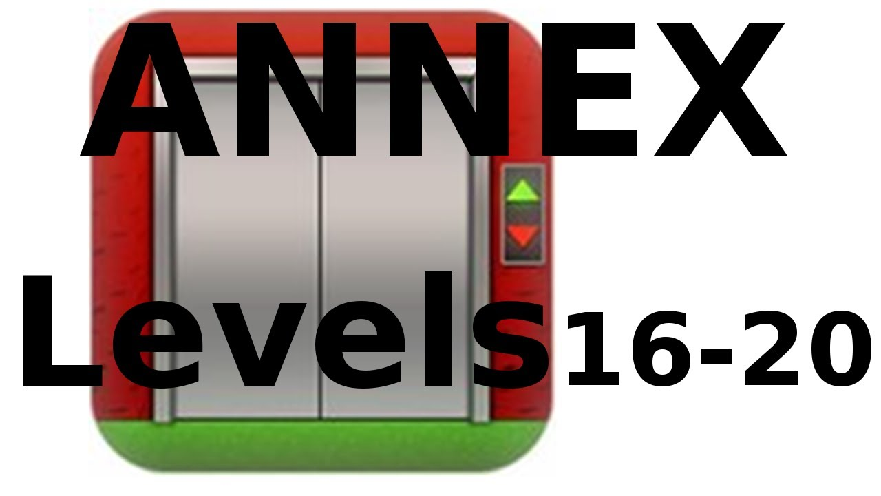 100 Floors Annex Levels 16 To 20 Walkthrough Youtube
