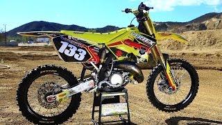 Suzuki RM125 2 stroke project build || Shaken not Stirred|| Motocross Action Magazine