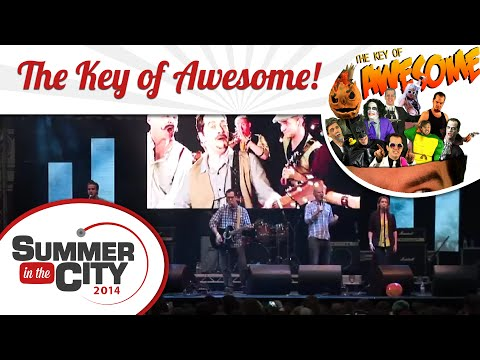 The Key of Awesome! LIVE at SitC 2014