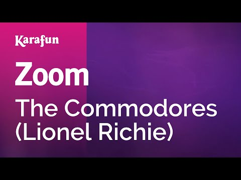 Karaoke Zoom - The Commodores *