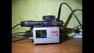 ATmega1284P + ILI9341 видео №2