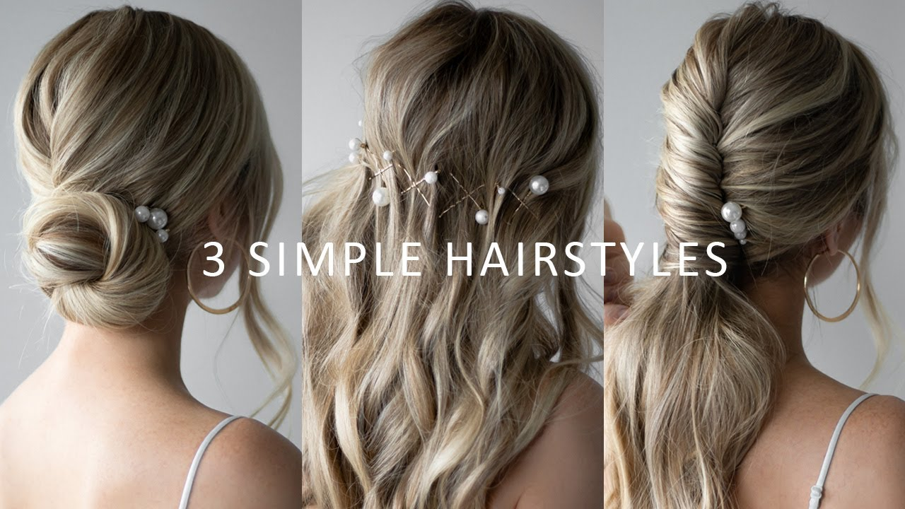 HOW TO: EASY Prom Hairstyles 👸🏼 Prom, Wedding, Bridal Hair