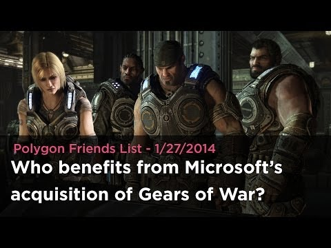 Friends List: Who benefits from Microsoft's acquisition of Gears of War from Epic Games?
