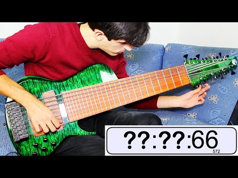 Download Youtube: Tuning a 24 STRINGS BASS... How long does it take?