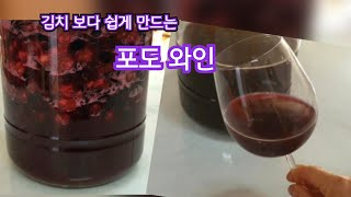 포도 와인 만드는 법/김치 담그기 보다 쉬운 와인 만들…