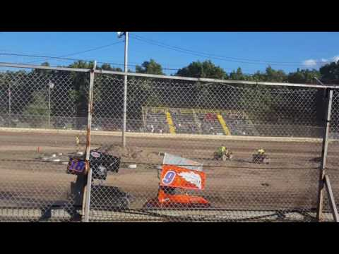 Jack Lathan 125 micro heat race. Limerock Speedway 8/6/16