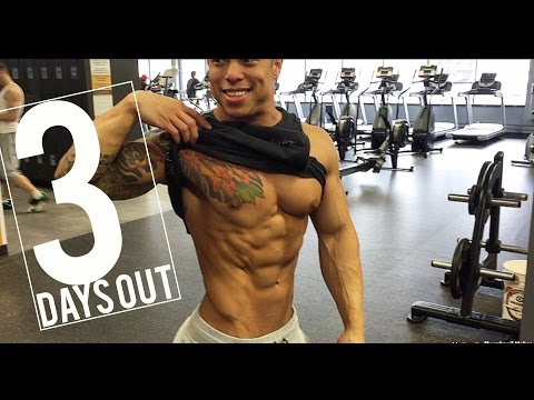 ABS?!? PHYSIQUE UPDATE FINALLY!! | 3 DAYS OUT | IFBB ROAD TO NATIONALS 2017 | 8 WEEK SHRED | Ep.22