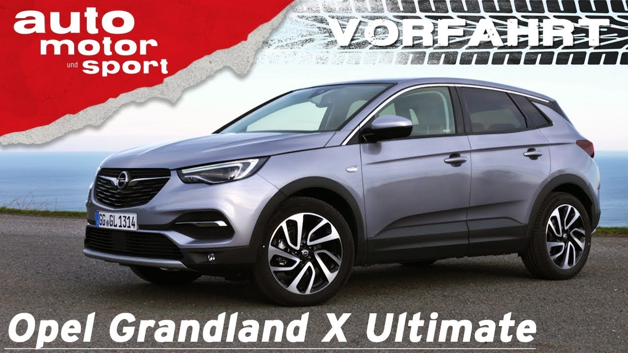 opel grandland x ultimate 2018 ist das schon premium vorfahrt review auto motor und. Black Bedroom Furniture Sets. Home Design Ideas