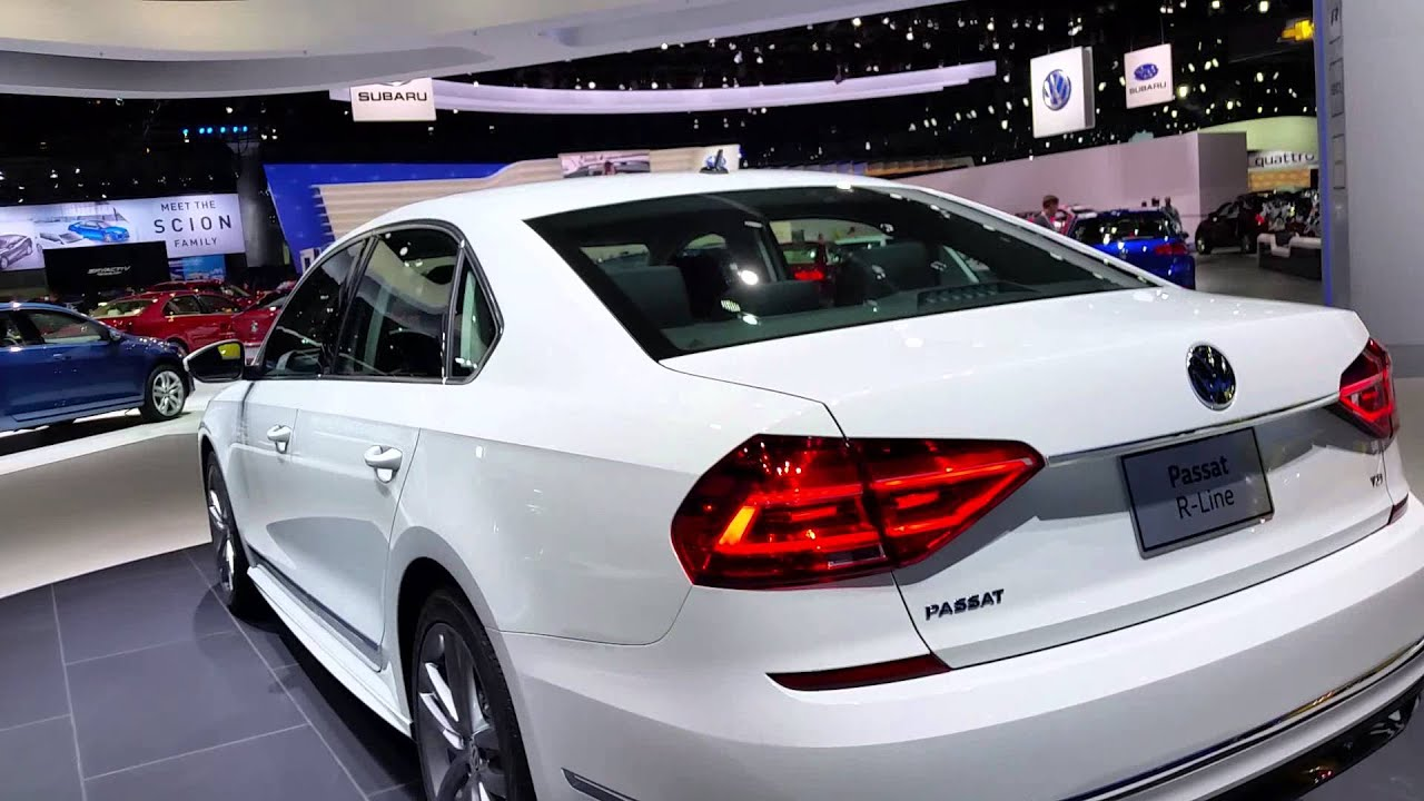 volkswagen passat r line 2016 autoshow de los nge youtube. Black Bedroom Furniture Sets. Home Design Ideas
