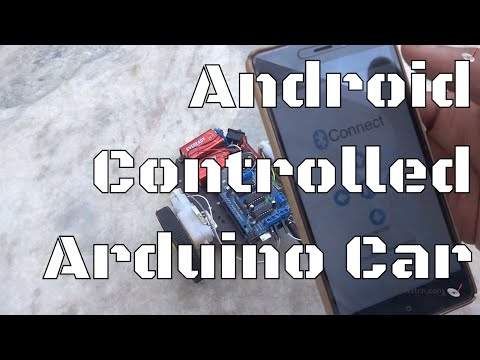 Android Controlled Arduino Bluetooth Car | Electronics Project