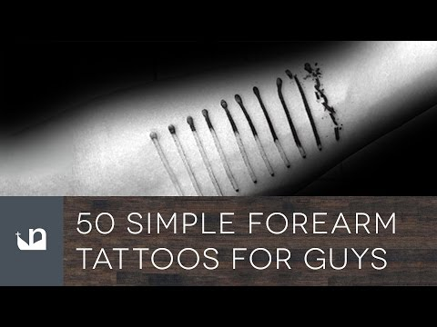 50 Simple Forearm Tattoos For Men