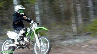 Kawasaki KX 250 FMF Gnarly - Shirin 2-qon tomir Ovoz Tuzish