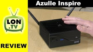 Azulle Inspire Mini PC Review - Fanless Silent i3 / i5 / i7 Barebones Desktop PC Windows / Linux