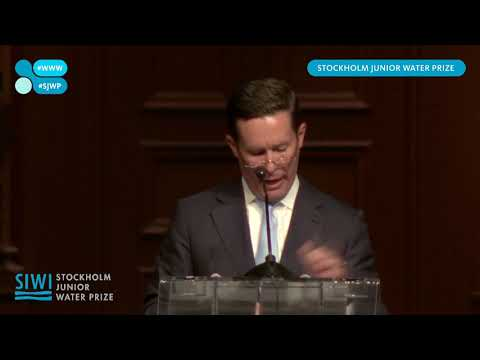 Xylem President and CEO Patrick Decker speaks at the Stockholm Junior Water Prize Ceremony 2019 Hear Patrick Decker talk to the finalists and attendee...