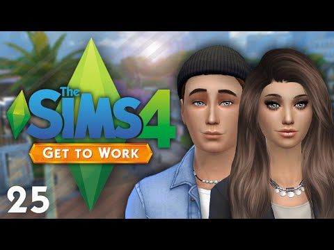 Let's Play: The Sims 4 Get To Work - Part #25 - Painting!
