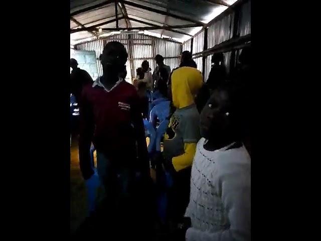Children Worshipping Jesus - Kibera Slum Nairobi Kenya