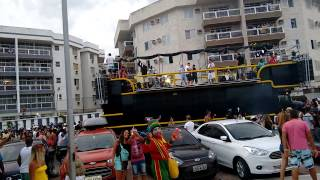 Bloco de rua - Carnaval Cabo Frio - 2015