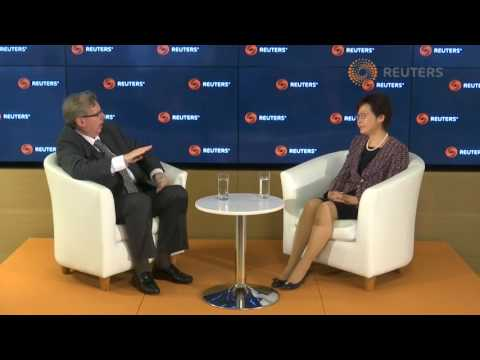 Reuters Newsmaker interview with Carrie Lam, Chief Executive HK (Full Interview)