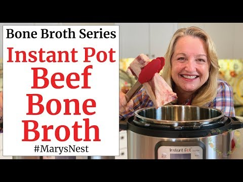 Instant Pot Beef Bone Broth That Gels Every Time