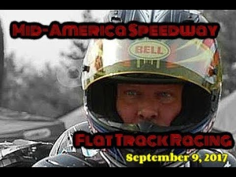 Mid-America Speedway Flat Track Racing- Saturday Night in Indiana
