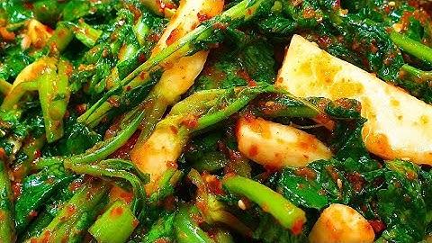열무김치 맛있게 담는법, 간단하게 가을열무김치 담기