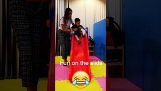MARKUS Enjoying the slide