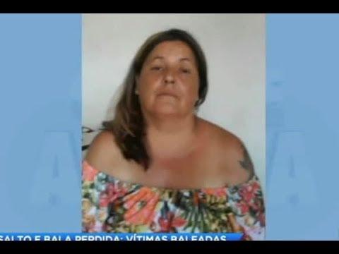 Mulher discute com assaltante e é atacada