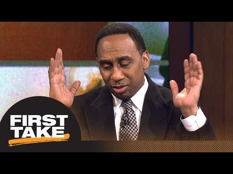 Stephen A. Smith on Odell Beckham Jr. leaked video: I'm disgusted right now | First Take | ESPN