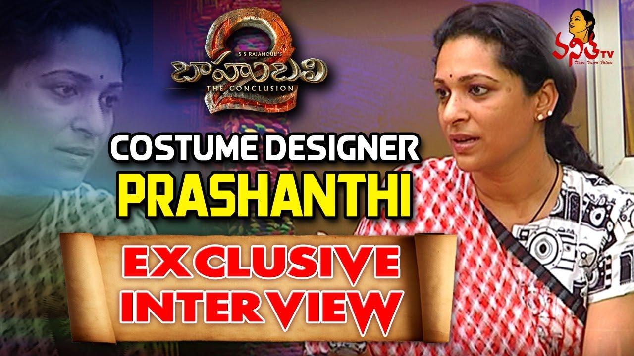 Baahubali 2 Costume Designer Prashanthi Exclusive Interview Vanitha Tv Youtube