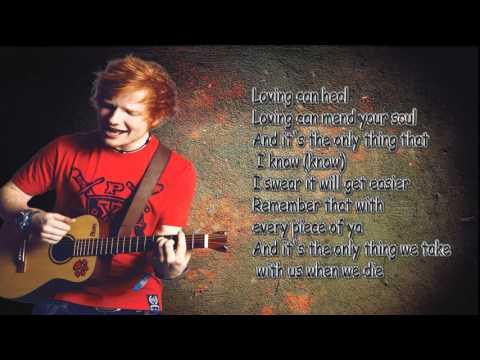 Photograph - By Ed Sheeran (Lyrics)