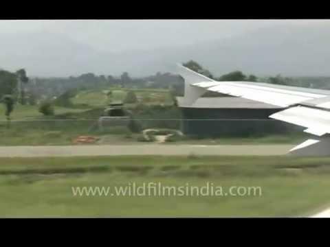 Runway of Tribhuvan International Airport, Kathmandu