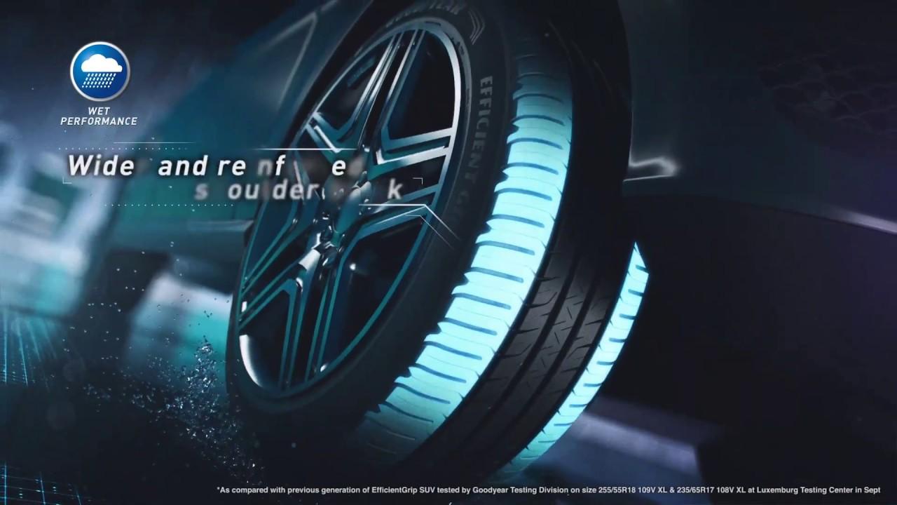 goodyear efficientgrip performance suv tyre youtube. Black Bedroom Furniture Sets. Home Design Ideas