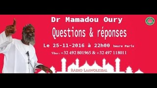 Baixar Dr. Mamadou Oury: Questions & Réponses #6 radio laawol kisal