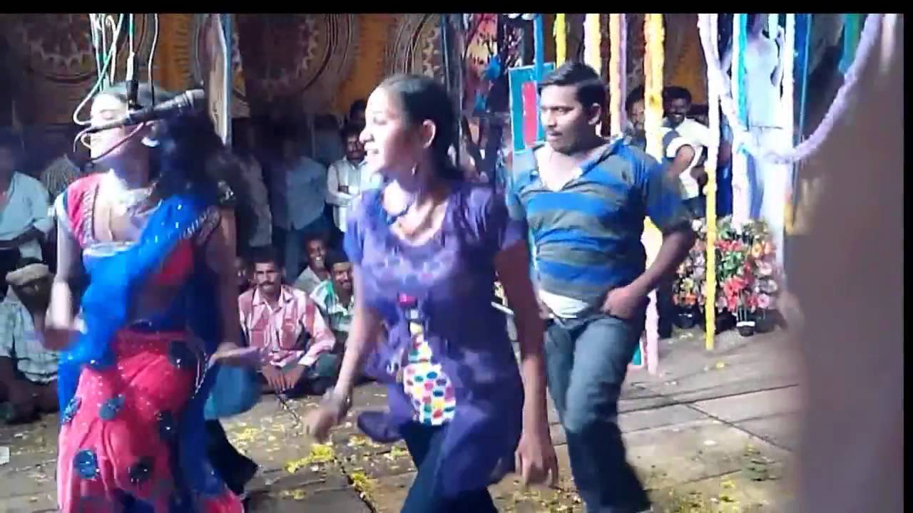 "Latest "" Telugu Drama Video Song "" In 2016    Village Stage Recording Dance From Sanghika"